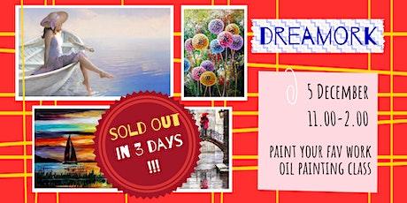 DREAMWORK - oil painting social workshop. tickets