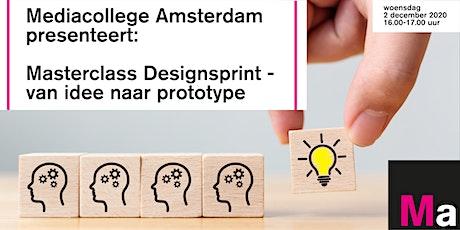 Mediacollege Amsterdam presenteert: Masterclass Designsprint  | 2 dec 2020 tickets