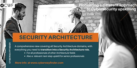 INFO EVENT: Career Transition  Training in SECURITY Architecture tickets