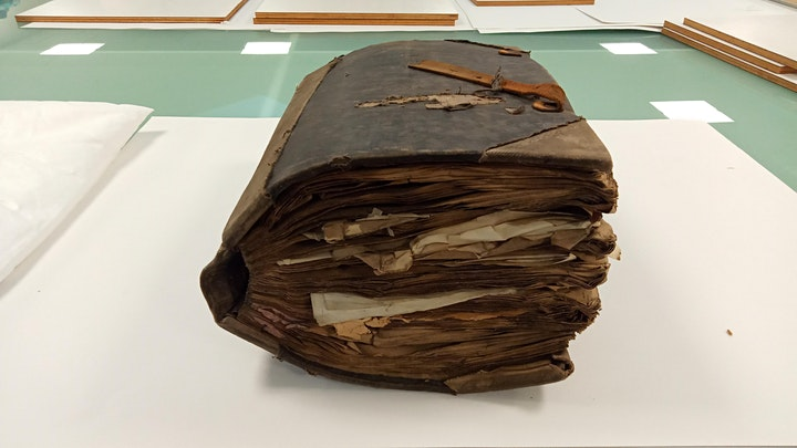 Conservation and Collections Care: Preserving PRONI's Archives image