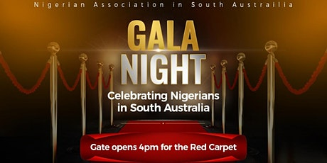 *TICKET SALE ON HOLD* Gala Night: Celebrating Nigerians in South Australia tickets