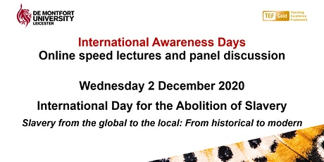 International Day for the Abolition of Slavery tickets