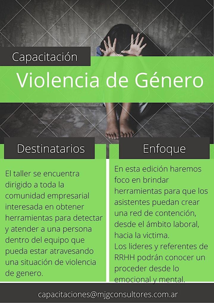 Imagen de Taller de Violencia de Genero y Ley Micaela