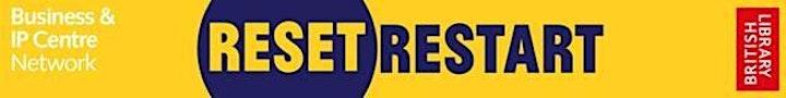 Reset. Restart: branding for start-ups image