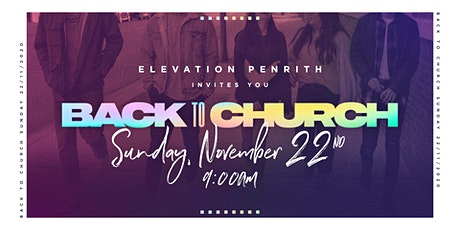 In-Person Church Service - Elevation Penrith tickets