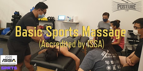 Basic Sports Massage tickets