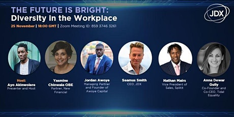 The Future is Bright: Diversity in the Workplace tickets