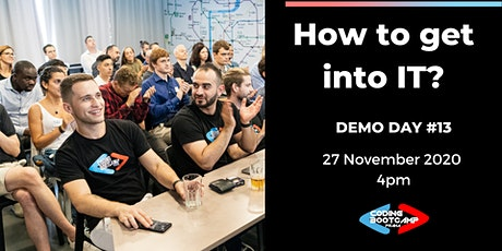 How to get into IT? ONLINE Demo Day #13 by Coding Bootcamp Praha tickets
