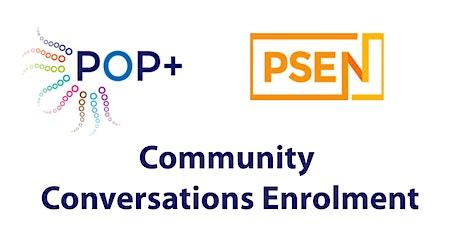 Community Conversations Enrolment tickets