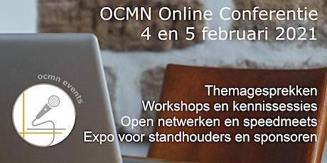 OCMN - maandelijkse netwerkconferentie februari 2021 tickets