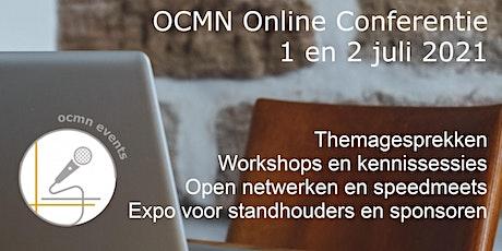 OCMN - maandelijkse netwerkconferentie juli 2021 tickets