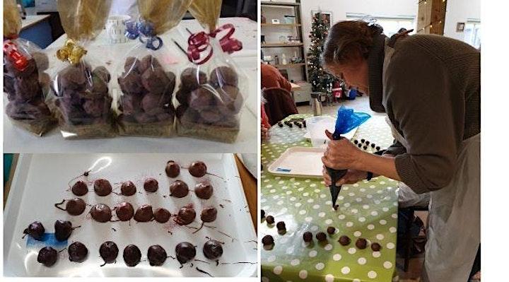 Chocolate Truffle Making Experience image
