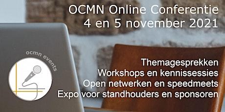 OCMN - maandelijkse netwerkconferentie november 2021 tickets