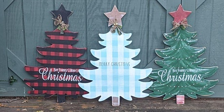 Christmas Comes but Once a Year!  Christmas Tree Paint Night HYC 11 tickets