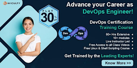 DevOps Online Training | Instructor LED | LIVE Training | Join Now! tickets