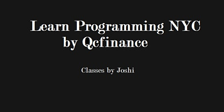 Python For Finance 101 Class (6 hours $325)- Online Event tickets