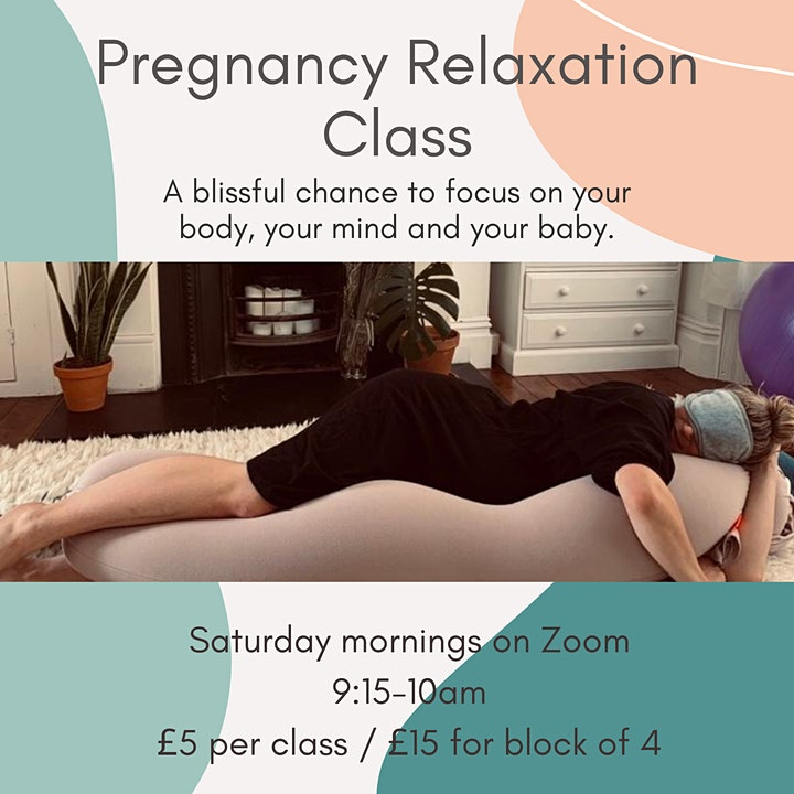 Weekly Pregnancy Relaxation Classes (Saturdays 9:15-10am) image