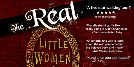 The Real Little Women: A walking tour led by May Alcott tickets