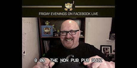 The Non Pub Pub Quiz tickets