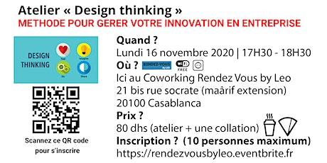 Atelier Design Thinking billets