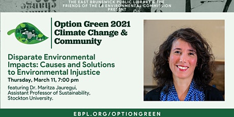 Option Green: Causes and Solutions to Environmental Injustice tickets