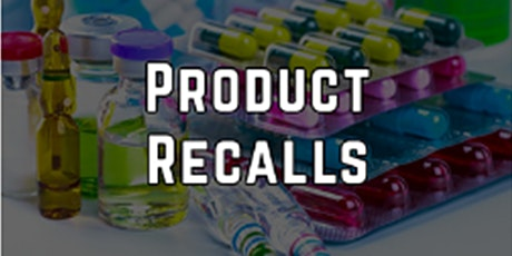 FDA's Adverse Event Reporting and Product Recalls tickets