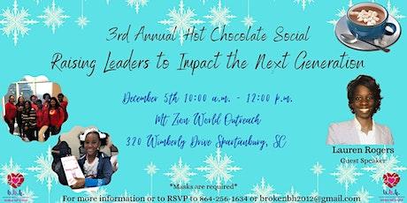 3rd Annual Hot Chocolate Social tickets