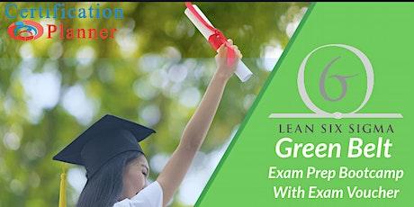 Certified Lean Six Sigma Green Belt Certification Training  Greensboro tickets