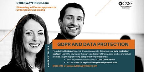 INFO EVENT: CWF Training Module on Data Protection and GDPR tickets