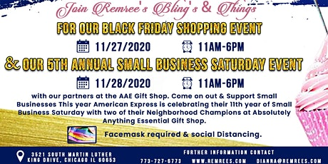 5th Annual Small Business Saturday Event tickets