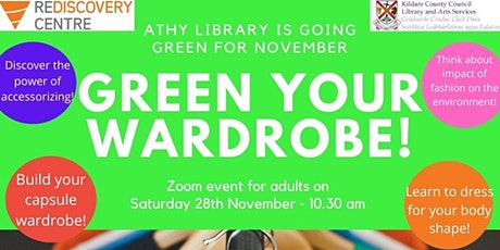 Green Your Wardrobe! With Athy Library and the Rediscovery Centre tickets