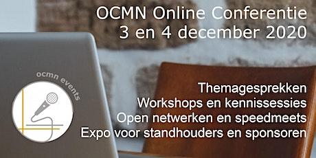 OCMN - maandelijkse netwerkconferentie december 2020 tickets