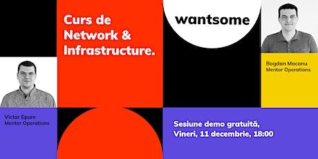 Sesiune Demonstrativă Gratuită de Network & Infrastructure tickets