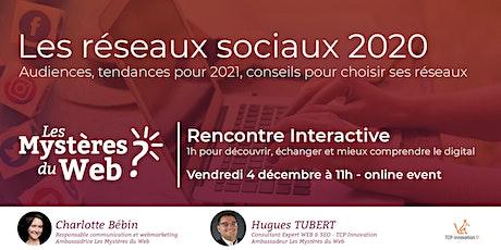 Audiences et tendances 2021 pour bien choisir ses réseaux sociaux | LMDW billets