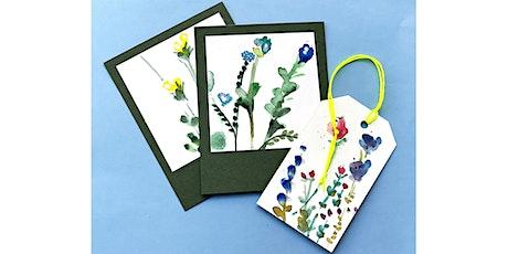 Online-Workshop | Do, 26.11. | 19.15 - 20.30 Uhr I Malen: Florale Aquarelle Tickets