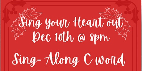 Sing Your Heart Out - Sing Along C Word tickets