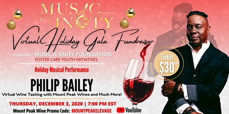Music Is Unity Virtual Holiday Gala tickets