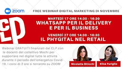 Webinar GRATUITI di Digital Marketing Novembre 2020 biglietti