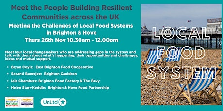 Meeting the challenges of the local food system in Brighton & Hove tickets