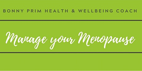 Manage your Menopause Challenge tickets