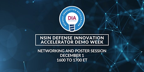 NSIN DIA Demo Week: Networking and Poster Session tickets