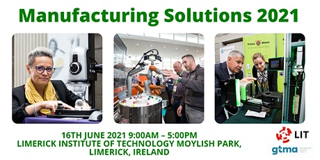 Manufacturing Solutions 2021 tickets