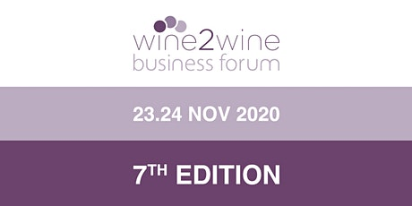 wine2wine 2020 Digital Business Forum tickets