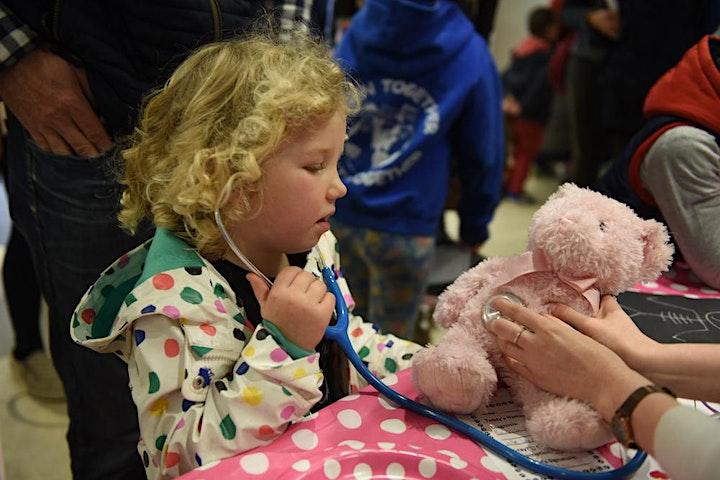 Teddy Bear Hospital  - check your teddy for COVID image