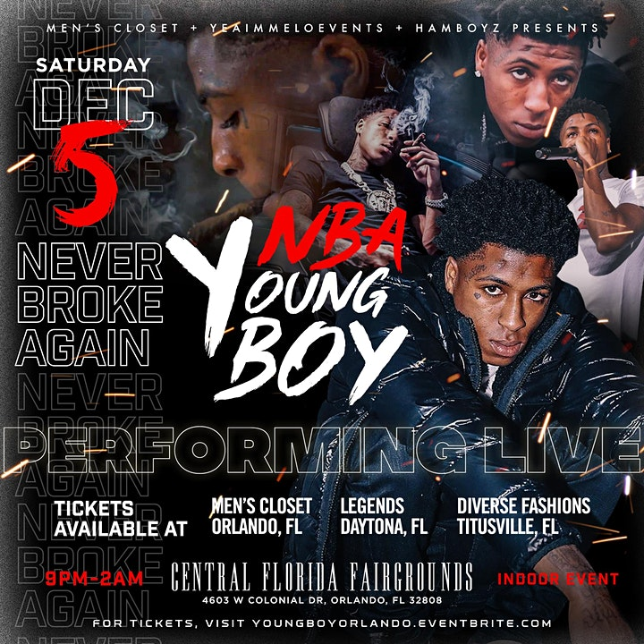 NBA Young Boy Concert Orlando image