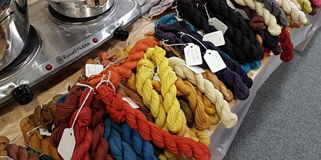 Natural Dyeing Taster Workshop March tickets