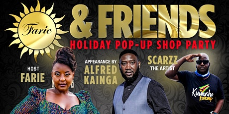 Farie & Friends Holiday POPUP Shop Party tickets