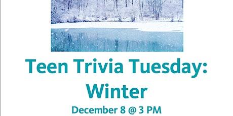 Teen Trivia Tuesday: Winter tickets