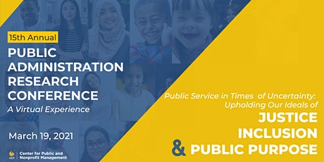 2021 Public Administration Research Conference, UCF tickets