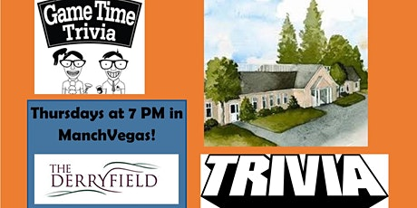Game Time Trivia at the Derryfield Restaurant Lounge tickets